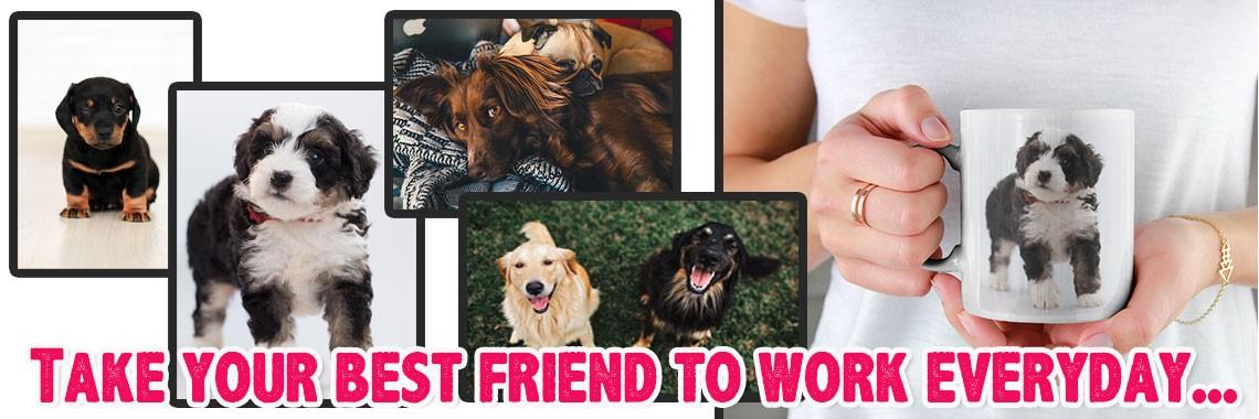 Printed Mugs - Best Friends